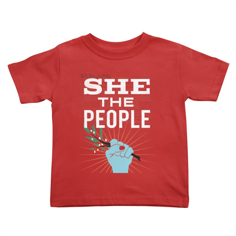 She the People Power! Kids Toddler T-Shirt by Anikadrawls