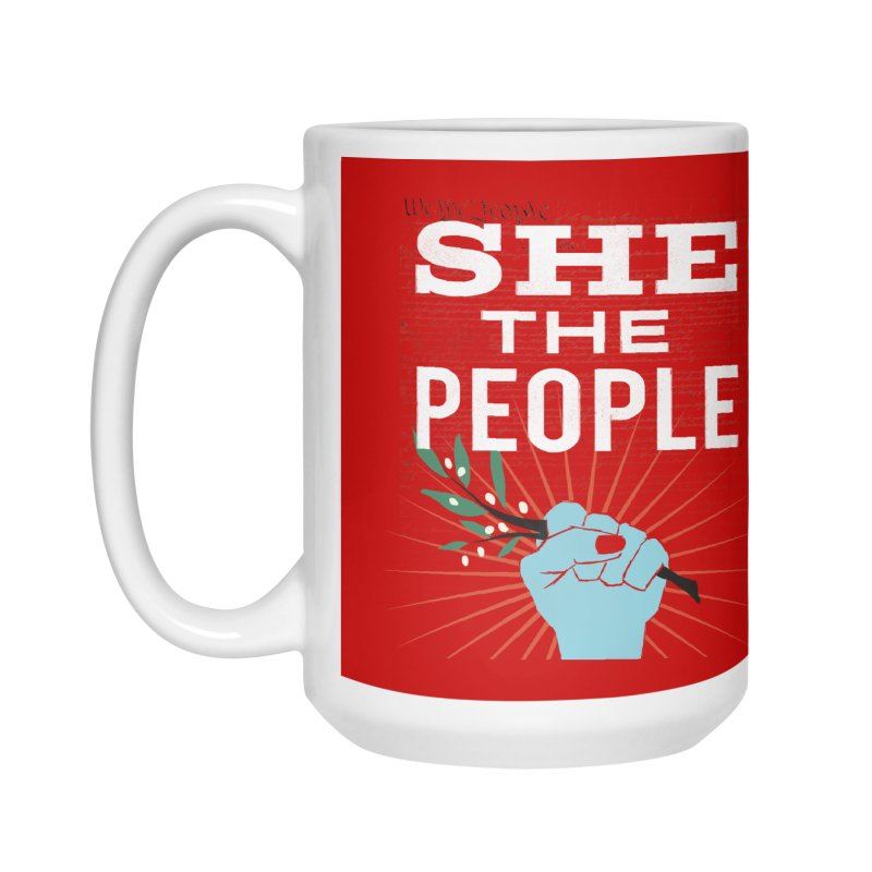 She the People Power! Accessories Mug by Anikadrawls