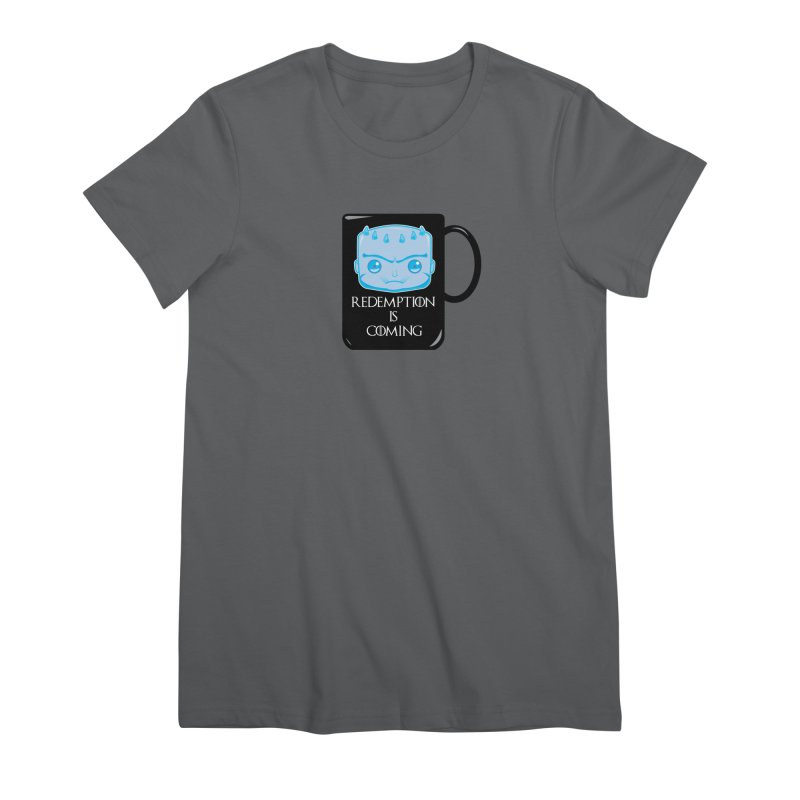Redemption Is Coming Women's T-Shirt by AnimatedTdot's Artist Shop