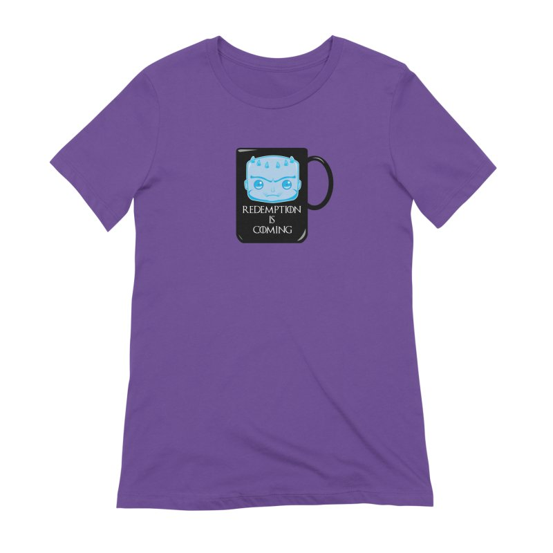 Redemption Is Coming Women's Extra Soft T-Shirt by AnimatedTdot's Artist Shop