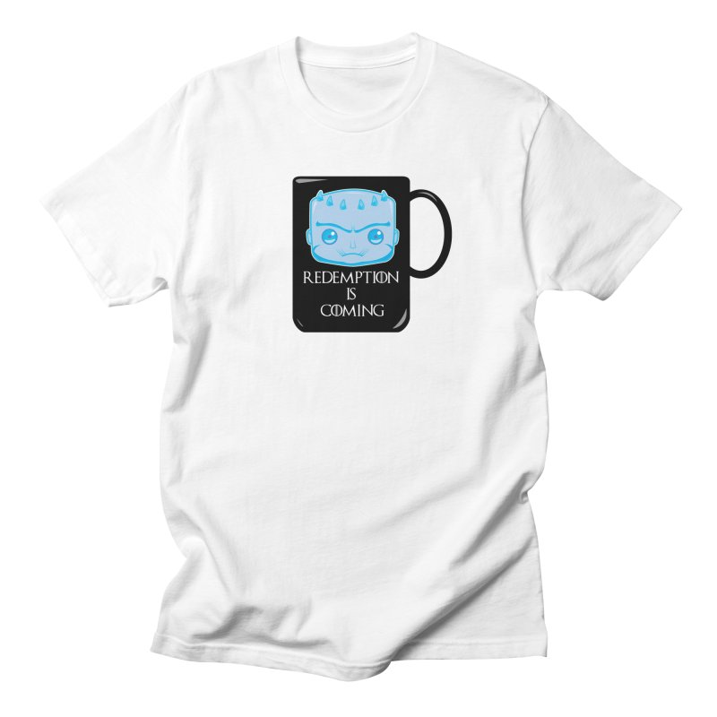 Redemption Is Coming Men's T-Shirt by AnimatedTdot's Artist Shop