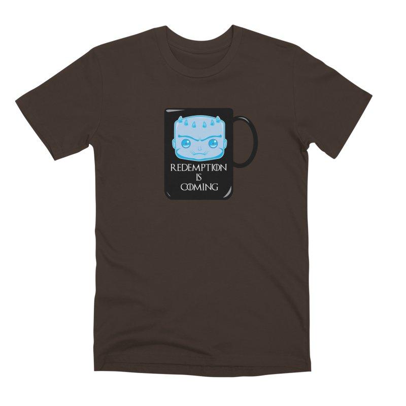 Redemption Is Coming Men's Premium T-Shirt by AnimatedTdot's Artist Shop
