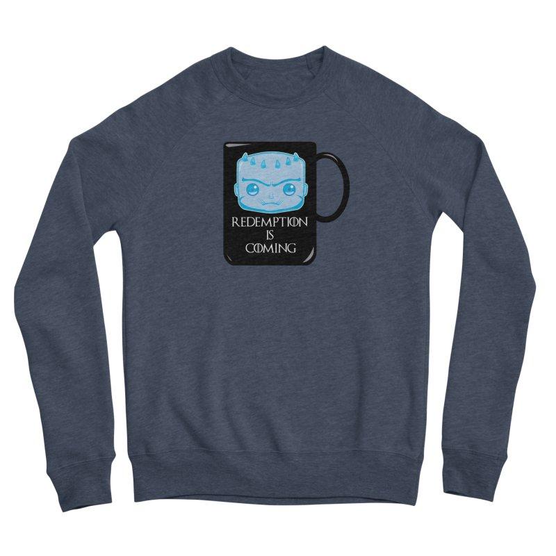 Redemption Is Coming Women's Sponge Fleece Sweatshirt by AnimatedTdot's Artist Shop
