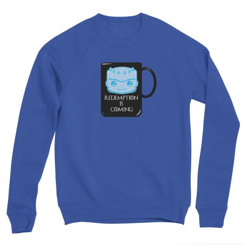 Redemption Is Coming Men's Sponge Fleece Sweatshirt by AnimatedTdot's Artist Shop