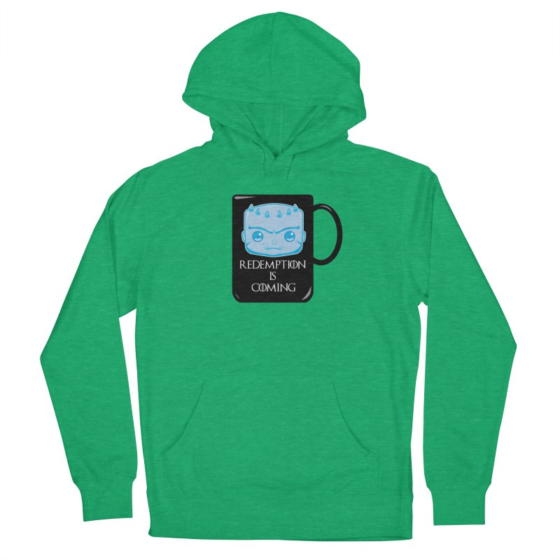 Redemption Is Coming Women's French Terry Pullover Hoody by AnimatedTdot's Artist Shop