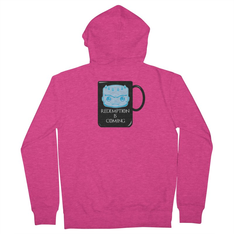 Redemption Is Coming Women's French Terry Zip-Up Hoody by AnimatedTdot's Artist Shop