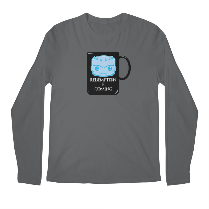 Redemption Is Coming Men's Longsleeve T-Shirt by AnimatedTdot's Artist Shop