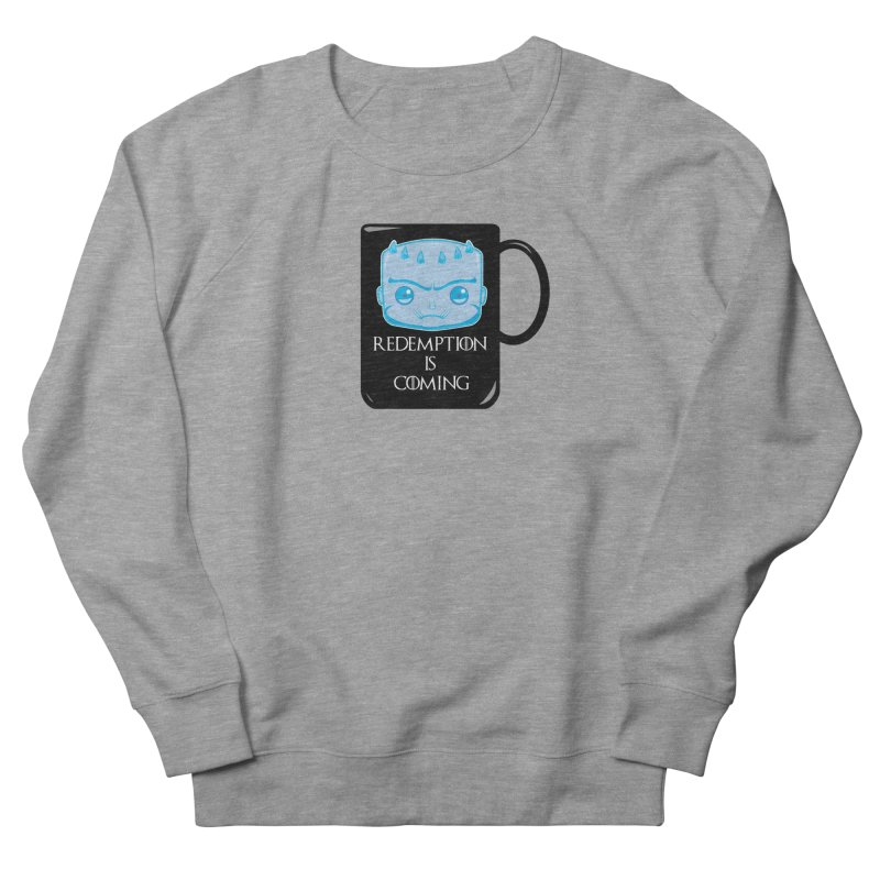 Redemption Is Coming Women's French Terry Sweatshirt by AnimatedTdot's Artist Shop