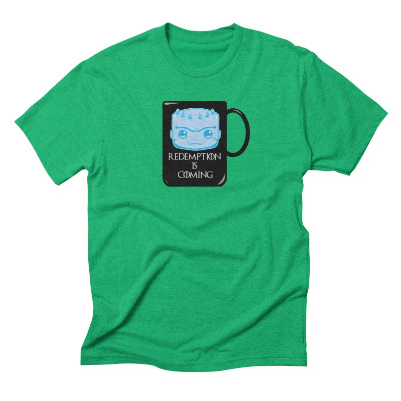 Redemption Is Coming Men's Triblend T-Shirt by AnimatedTdot's Artist Shop