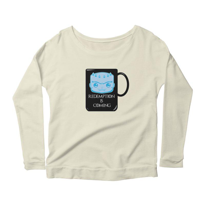 Redemption Is Coming Women's Scoop Neck Longsleeve T-Shirt by AnimatedTdot's Artist Shop