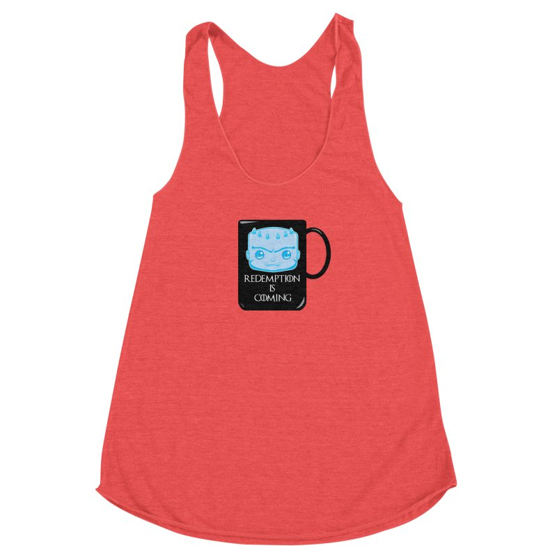 Redemption Is Coming Women's Racerback Triblend Tank by AnimatedTdot's Artist Shop