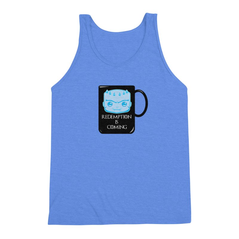 Redemption Is Coming Men's Triblend Tank by AnimatedTdot's Artist Shop