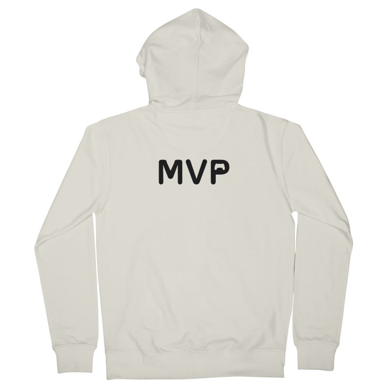 MVP Women's French Terry Zip-Up Hoody by AnimatedTdot's Artist Shop