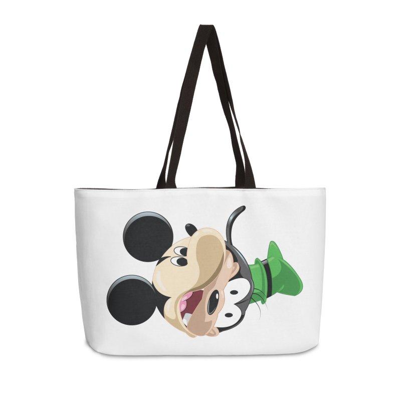 Mickey Goofy Yin Yang Accessories Weekender Bag Bag by AnimatedTdot's Artist Shop