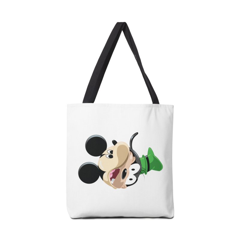 Mickey Goofy Yin Yang Accessories Tote Bag Bag by AnimatedTdot's Artist Shop