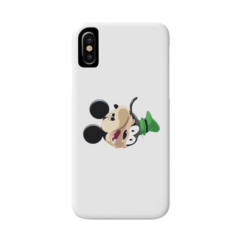 Mickey Goofy Yin Yang Accessories Phone Case by AnimatedTdot's Artist Shop
