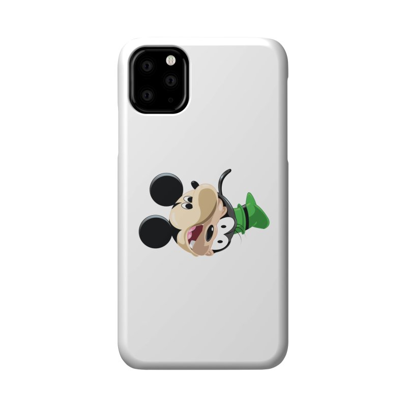 Mickey Goofy Yin Yang Accessories Phone Case by AnimatedTdot's Artist Shop