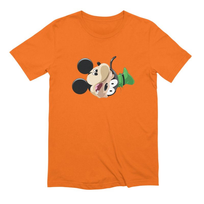 Mickey Goofy Yin Yang Men's Extra Soft T-Shirt by AnimatedTdot's Artist Shop