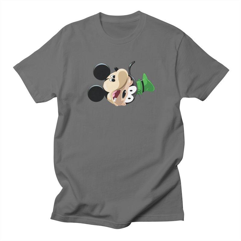 Mickey Goofy Yin Yang Men's T-Shirt by AnimatedTdot's Artist Shop