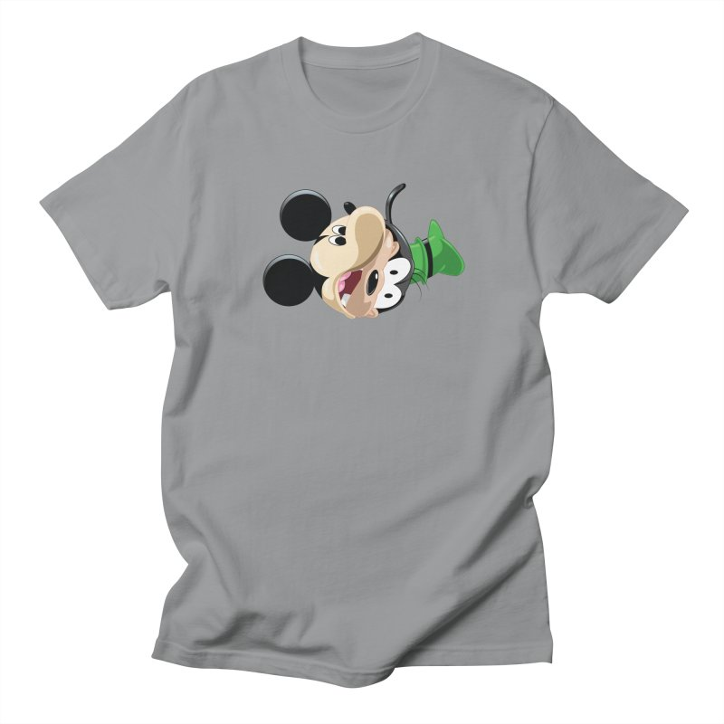 Mickey Goofy Yin Yang Men's Regular T-Shirt by AnimatedTdot's Artist Shop