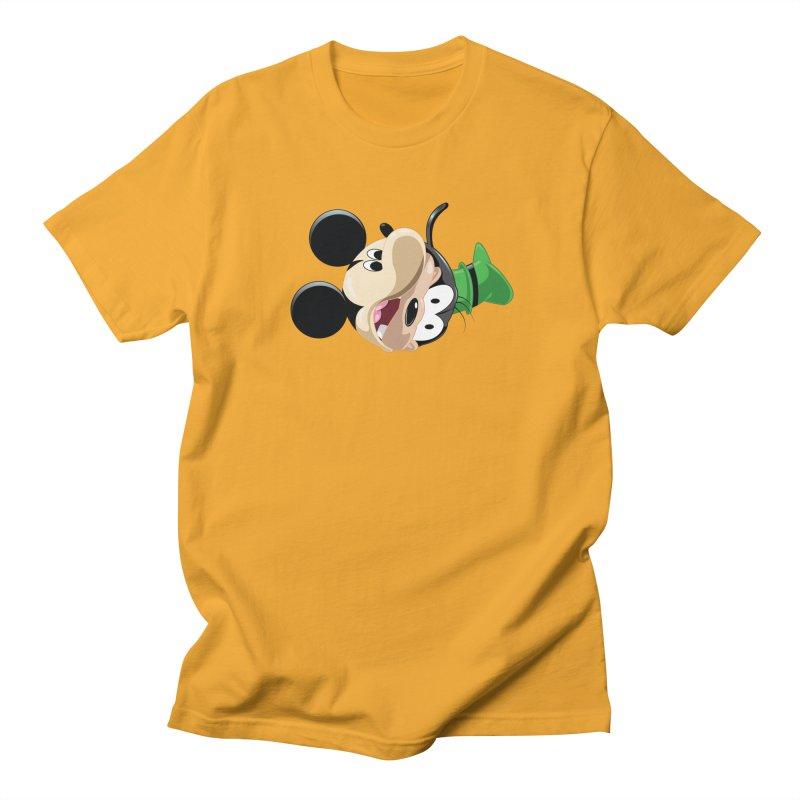 Mickey Goofy Yin Yang Women's Regular Unisex T-Shirt by AnimatedTdot's Artist Shop