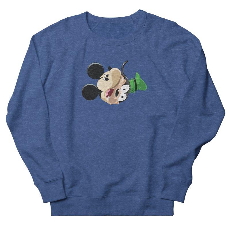 Mickey Goofy Yin Yang Women's Sweatshirt by AnimatedTdot's Artist Shop