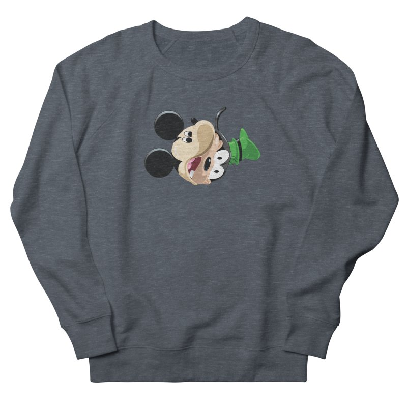 Mickey Goofy Yin Yang Women's French Terry Sweatshirt by AnimatedTdot's Artist Shop