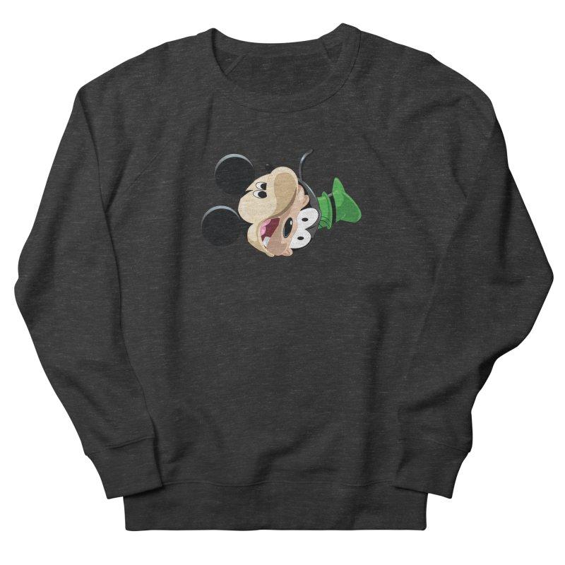 Mickey Goofy Yin Yang Men's French Terry Sweatshirt by AnimatedTdot's Artist Shop