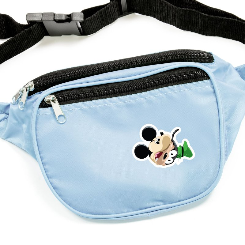 Mickey Goofy Yin Yang Accessories Sticker by AnimatedTdot's Artist Shop