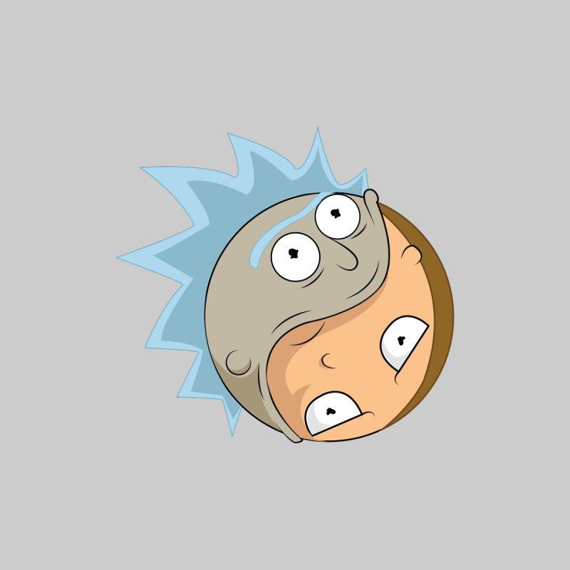 Rick And Morty Yin Yang Men's T-Shirt by AnimatedTdot's Artist Shop