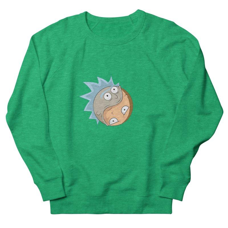 Rick And Morty Yin Yang Women's Sweatshirt by AnimatedTdot's Artist Shop