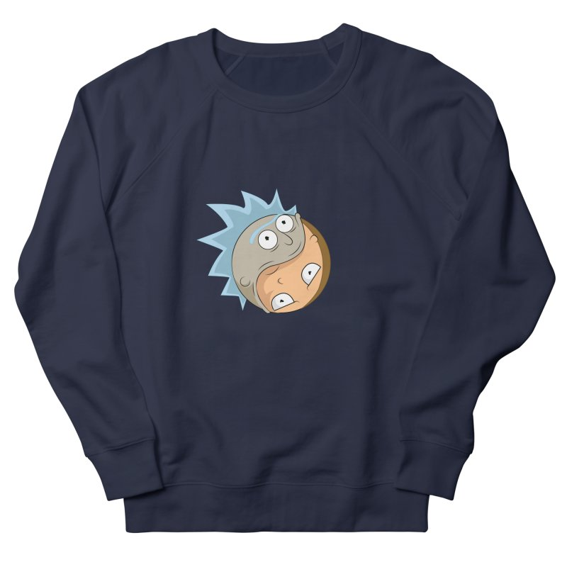 Rick And Morty Yin Yang Men's French Terry Sweatshirt by AnimatedTdot's Artist Shop