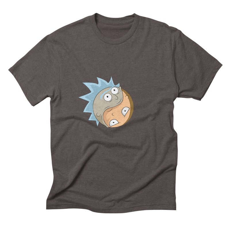 Rick And Morty Yin Yang Men's Triblend T-Shirt by AnimatedTdot's Artist Shop