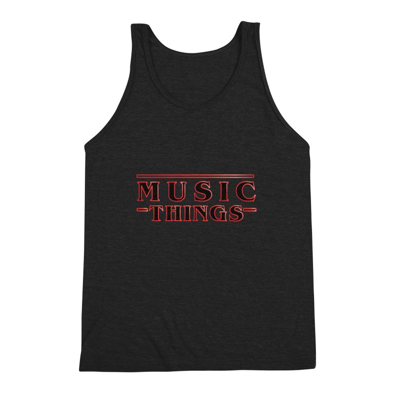 Music Things Men's Triblend Tank by AnimatedTdot's Artist Shop