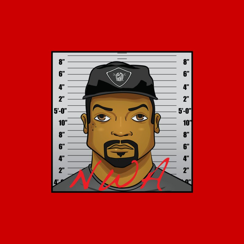 Ice Cube Nwa Mugshot by AnimatedTdot's Artist Shop