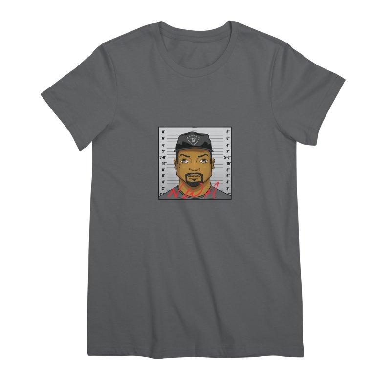 Ice Cube Nwa Mugshot Women's T-Shirt by AnimatedTdot's Artist Shop