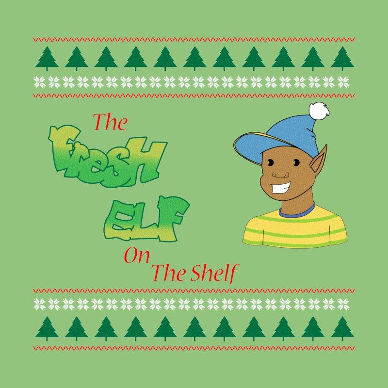 The Fresh Elf On The Shelf Men's Sweatshirt by AnimatedTdot's Artist Shop