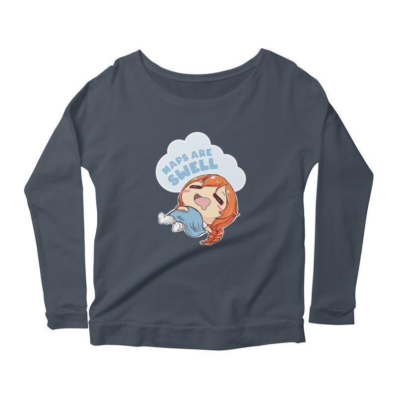 Naps are Swell Women's Longsleeve T-Shirt by AnimeForHumanity's Shop
