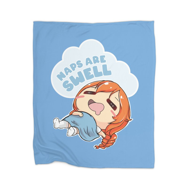 Naps are Swell Home Blanket by AnimeForHumanity's Shop