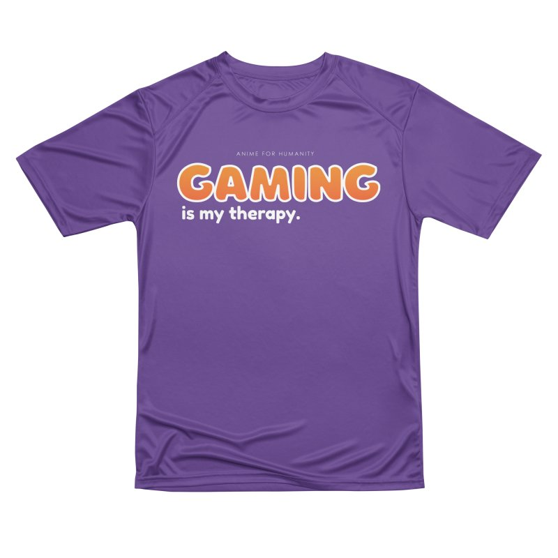 Gaming is my Therapy (orange) Women's T-Shirt by AnimeForHumanity's Shop