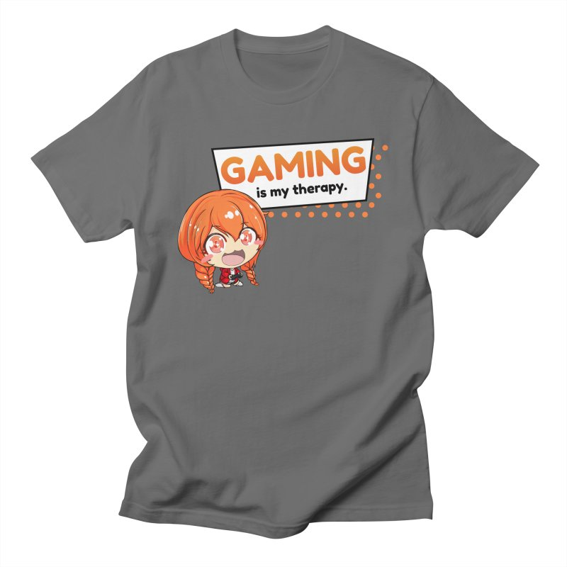 Gaming is my Therapy (Ki-Chan!) Men's T-Shirt by AnimeForHumanity's Shop