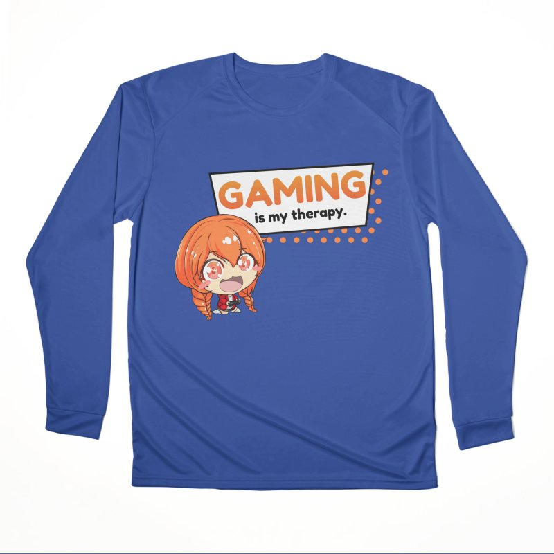Gaming is my Therapy (Ki-Chan!) Men's Longsleeve T-Shirt by AnimeForHumanity's Shop