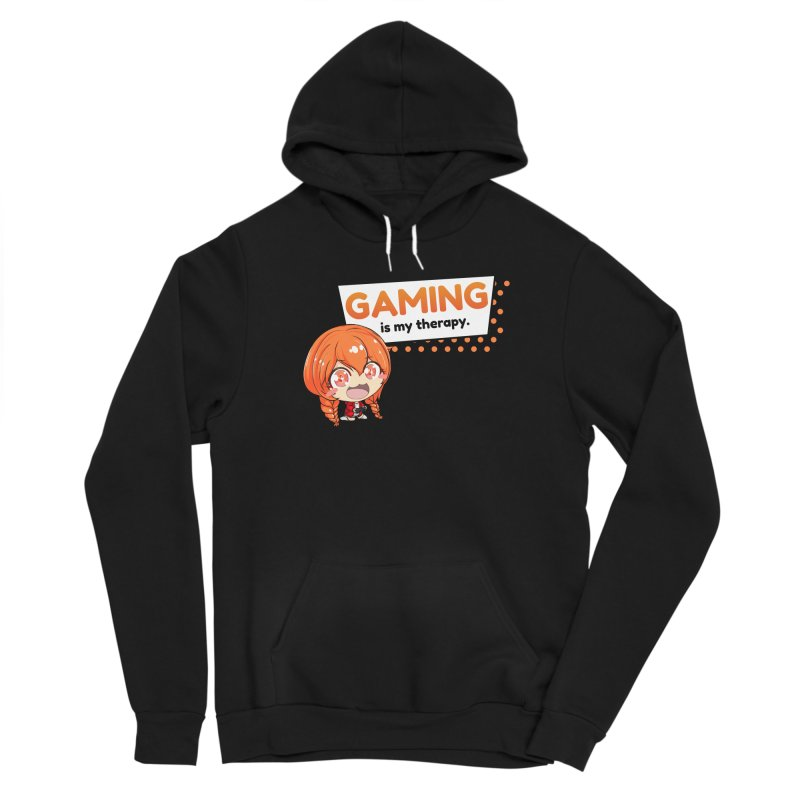 Gaming is my Therapy (Ki-Chan!) Women's Pullover Hoody by AnimeForHumanity's Shop