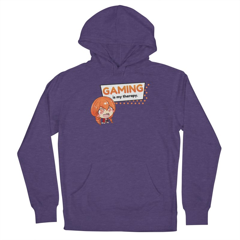 Gaming is my Therapy (Ki-Chan!) Men's Pullover Hoody by AnimeForHumanity's Shop