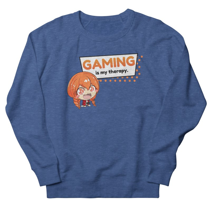 Gaming is my Therapy (Ki-Chan!) Men's Sweatshirt by AnimeForHumanity's Shop