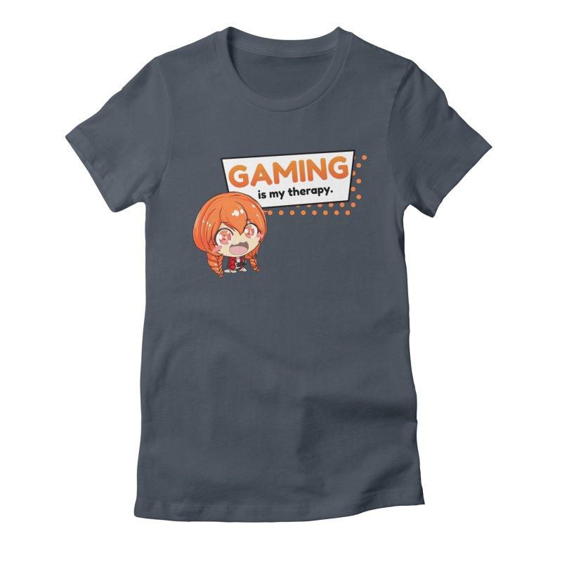Gaming is my Therapy (Ki-Chan!) Women's T-Shirt by AnimeForHumanity's Shop