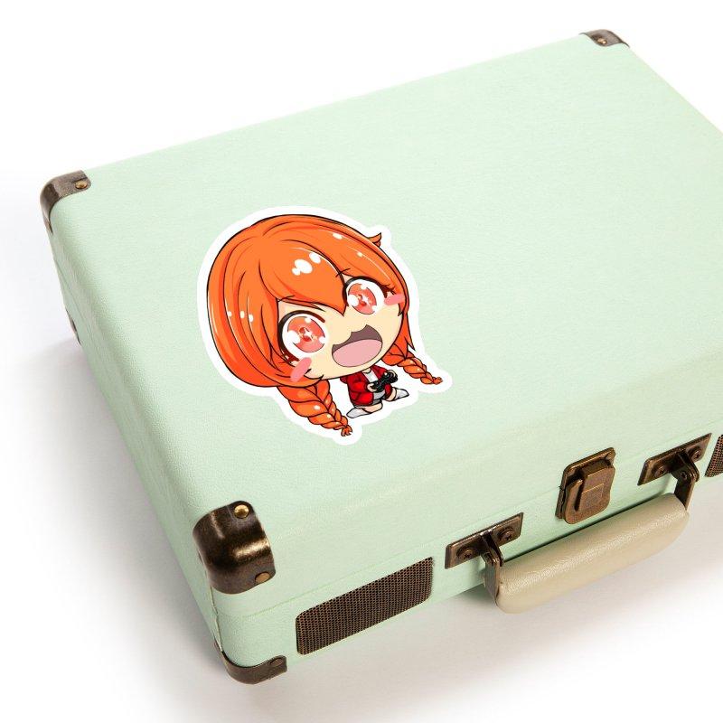 Kichan Gaming Sticker Accessories Sticker by AnimeForHumanity's Shop