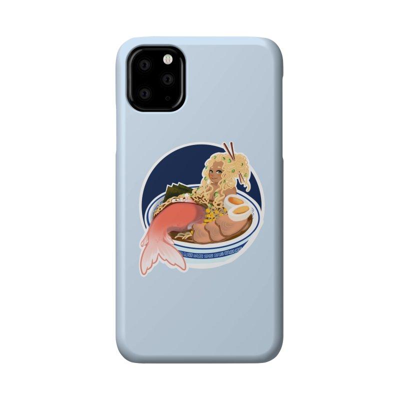 Ramen mermaid Accessories Phone Case by AnimeGravy