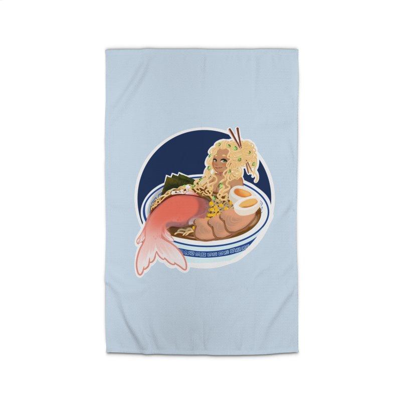Ramen mermaid Home Rug by AnimeGravy