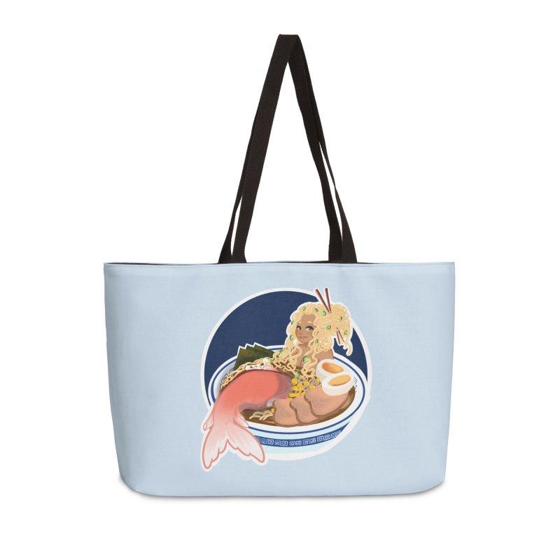 Ramen mermaid Accessories Weekender Bag Bag by AnimeGravy